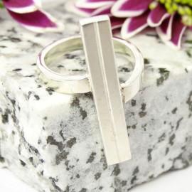 Sterling silver ring Sigillarium