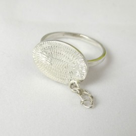 Sterling silver ring Streams