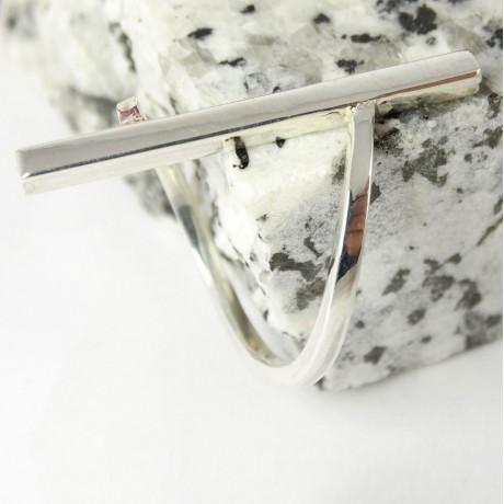 Sterling silver ring Colossal, Bijuterii de argint lucrate manual, handmade