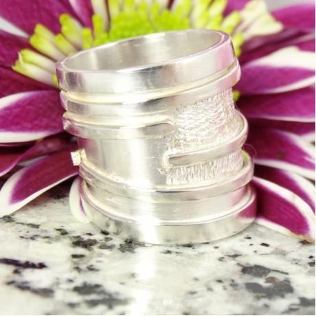 Sterling silver ring Invictus, Bijuterii de argint lucrate manual, handmade