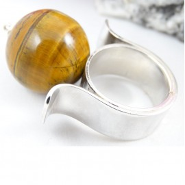 Sterling silver ring Maxima