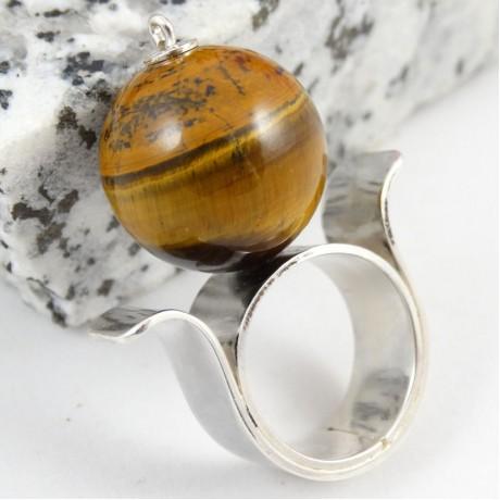 Sterling silver ring Maxima, Bijuterii de argint lucrate manual, handmade