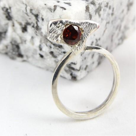 Sterling silver ring Lieu d'Origine, Bijuterii de argint lucrate manual, handmade