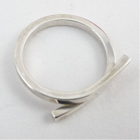 Sterling silver ring Playmates, Bijuterii de argint lucrate manual, handmade