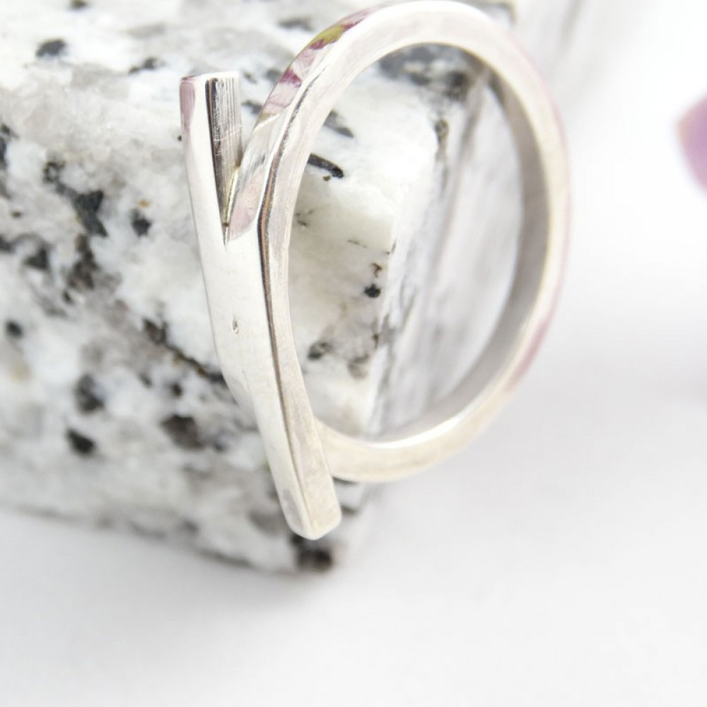 Sterling silver ring Playmates