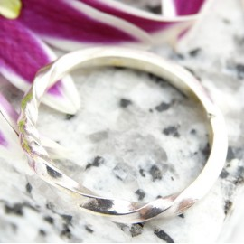 Sterling silver ring Mobility