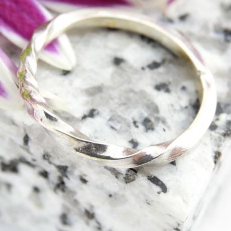 Sterling silver ring Mobility, Bijuterii de argint lucrate manual, handmade