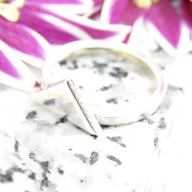 Sterling silver ring Tria