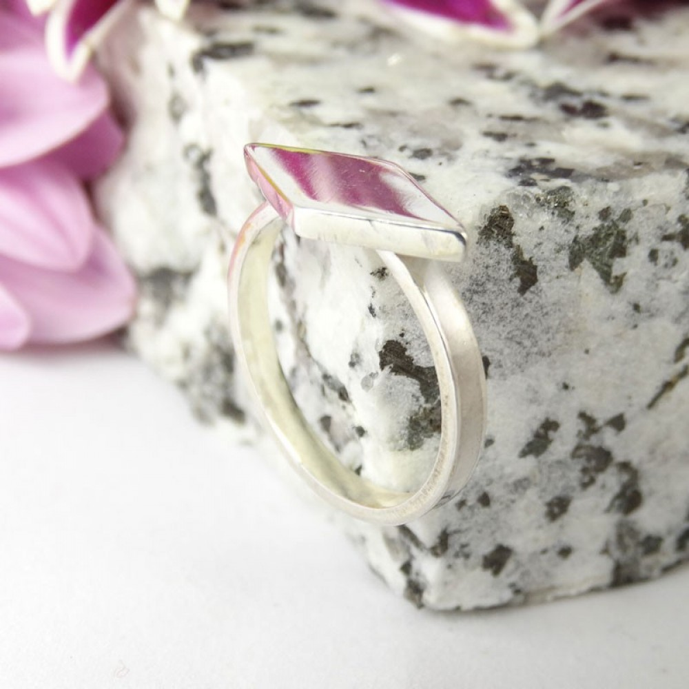 Sterling silver ring Diam