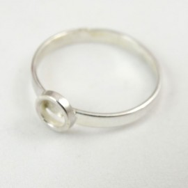 Sterling silver ring Casual F