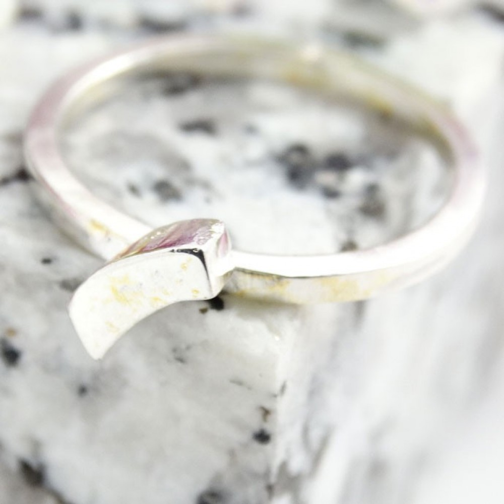 Sterling silver ring Jeunesse