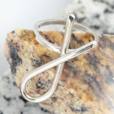 Sterling silver ring Bold, Bijuterii de argint lucrate manual, handmade