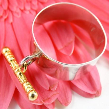 Sterling silver ring Feasty Mood B, Bijuterii de argint lucrate manual, handmade