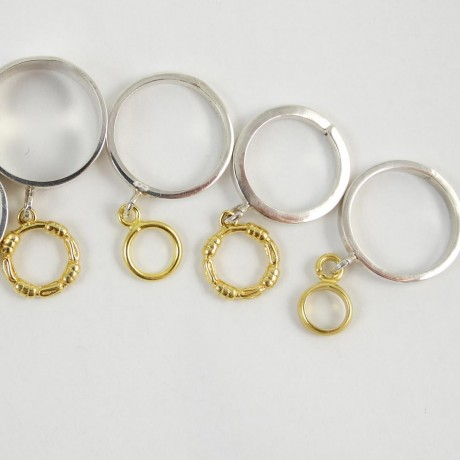 Sterling silver ring Rims, Bijuterii de argint lucrate manual, handmade