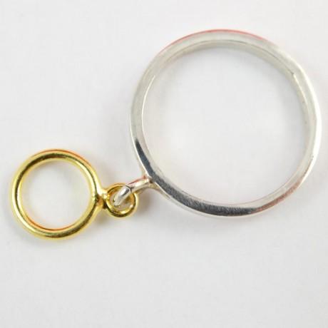 Sterling silver ring Wriggle, Bijuterii de argint lucrate manual, handmade
