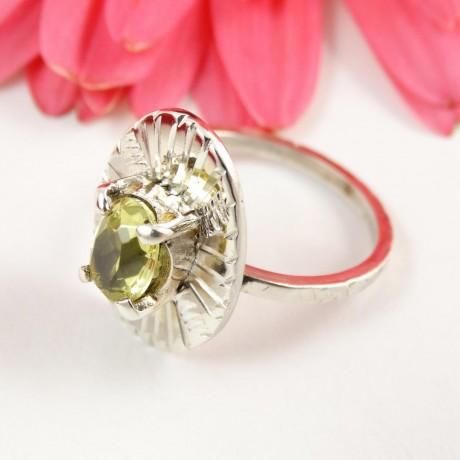 Sterling silver ring Edge, Bijuterii de argint lucrate manual, handmade