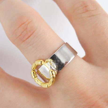 Sterling silver ring Volare, Bijuterii de argint lucrate manual, handmade