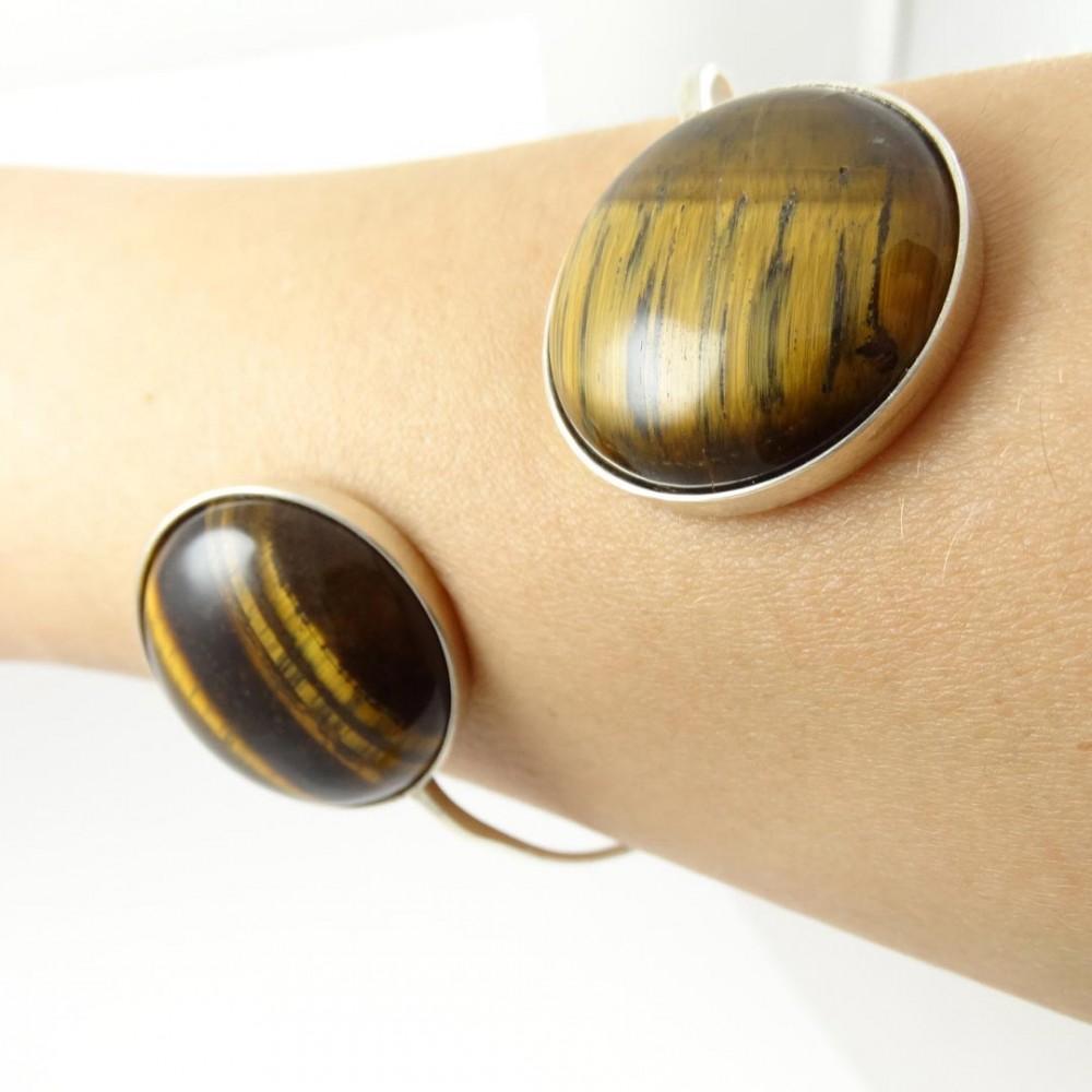 Sterling silver bracelet Symmetry