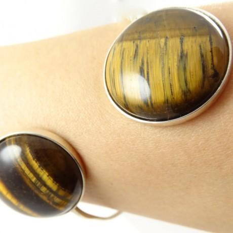 Sterling silver bracelet Symmetry, Bijuterii de argint lucrate manual, handmade