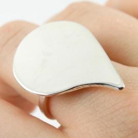 Sterling silver ring Frantic