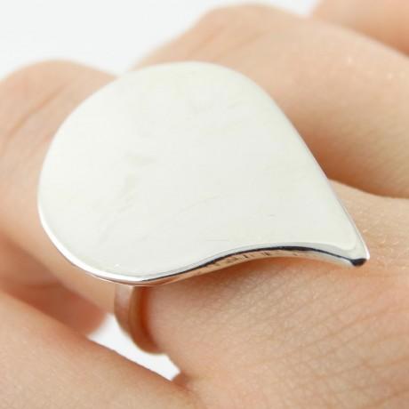 Sterling silver ring Frantic, Bijuterii de argint lucrate manual, handmade