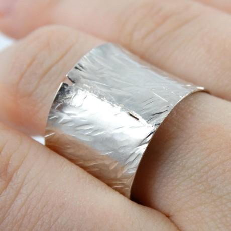 Sterling silver ring Dottie, Bijuterii de argint lucrate manual, handmade
