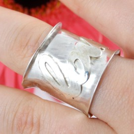 Sterling silver ring Intro