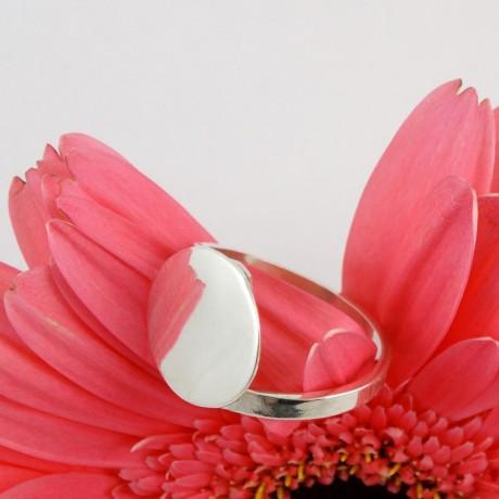 Sterling silver ring Crisscross, Bijuterii de argint lucrate manual, handmade