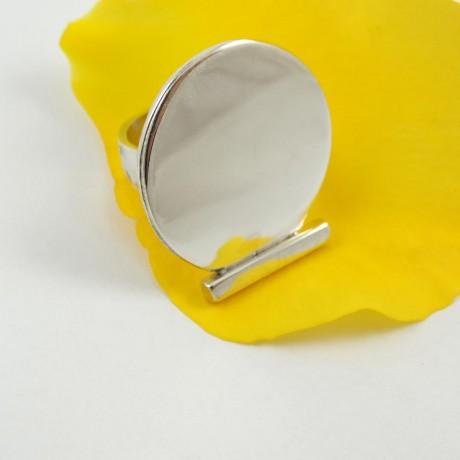 Sterling silver ring Brace yourself, Bijuterii de argint lucrate manual, handmade