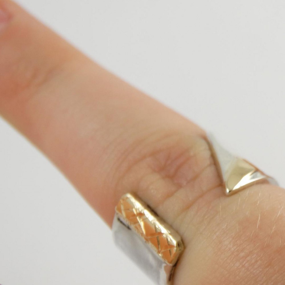 Sterling silver ring Young Brand