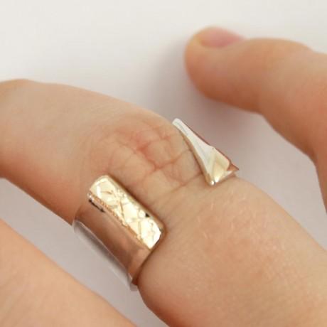 Sterling silver ring Young Brand, Bijuterii de argint lucrate manual, handmade