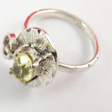 Sterling silver ring Love Babe, Bijuterii de argint lucrate manual, handmade