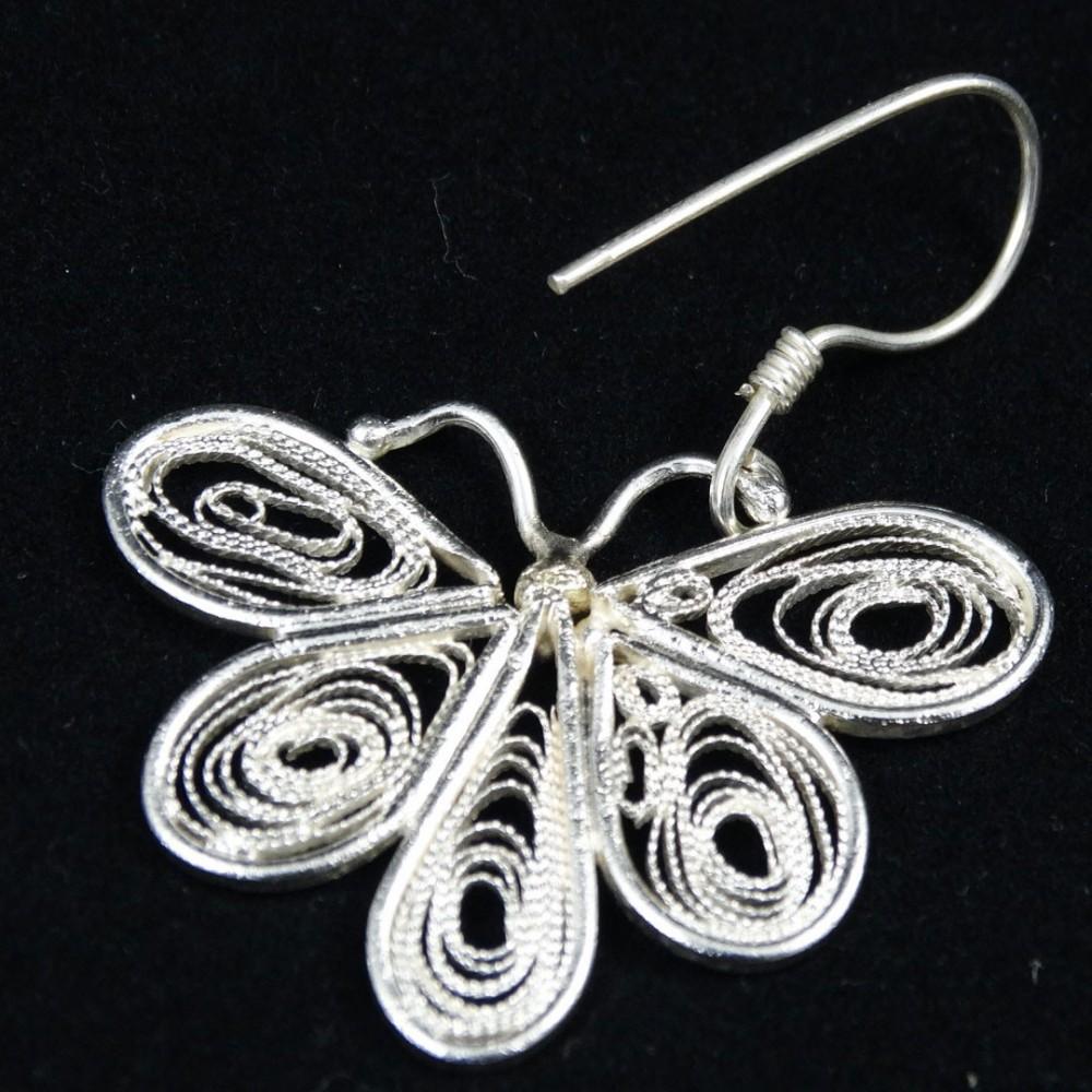 Unique Handmade filigree earrings