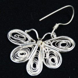 Unique Handmade filigree earrings