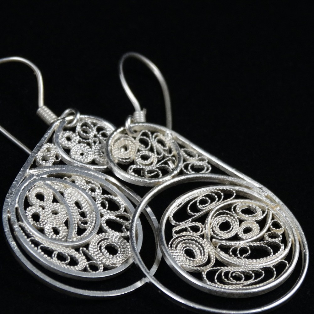 Earrings Filigree Piece Maitresse