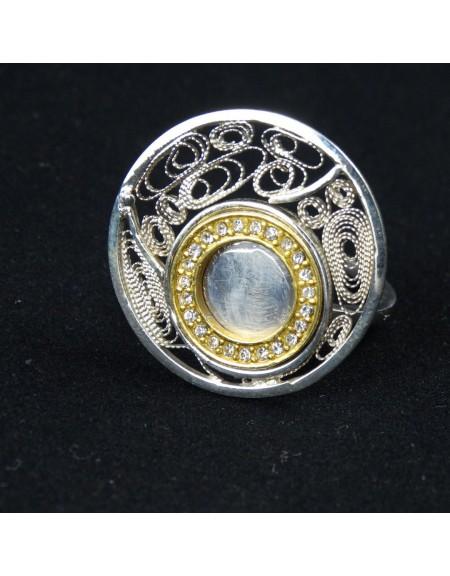 Inel UNICAT Love Trap, Bijuterii de argint lucrate manual, handmade