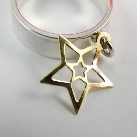 Sterling silver ring Templar, Bijuterii de argint lucrate manual, handmade
