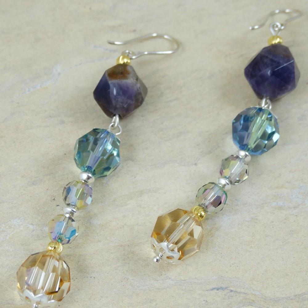 Sterling silver earrings Heydays of Love