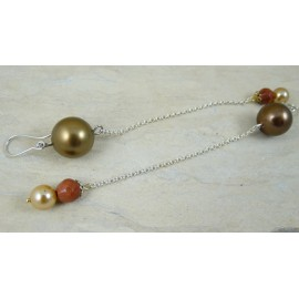 Sterling silver earrings Glory to Love