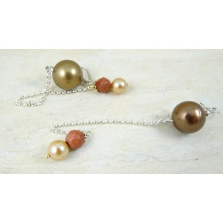 Sterling silver earrings Glory to Love, Bijuterii de argint lucrate manual, handmade