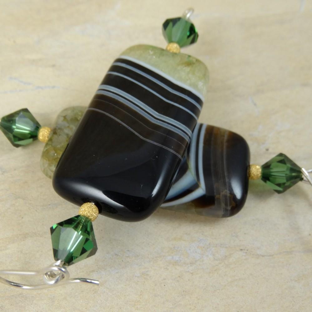 Sterling silver earrings Mela