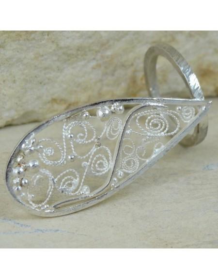 Inel SORCERESS, Bijuterii de argint lucrate manual, handmade