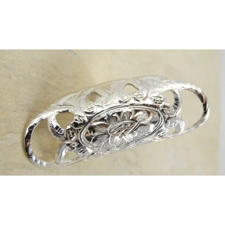 Sterling silver ring Epic Beauty, Bijuterii de argint lucrate manual, handmade