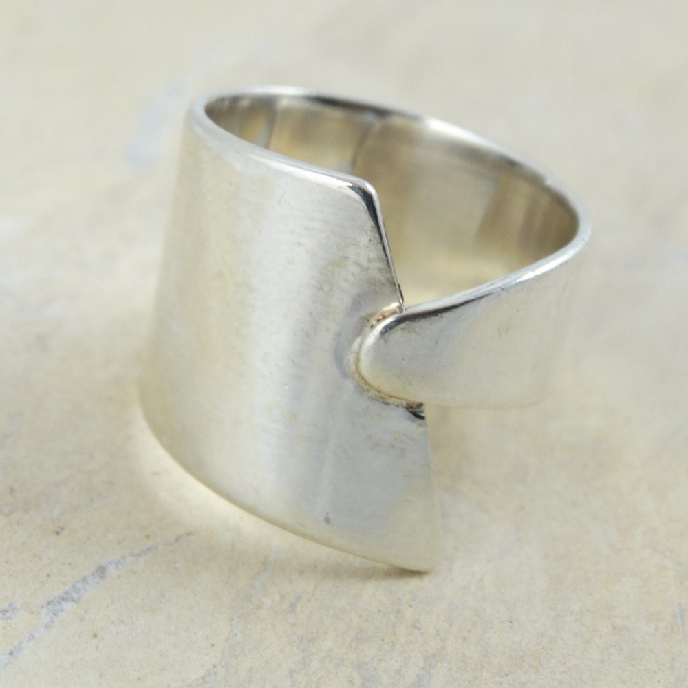 Sterling silver ring Stash