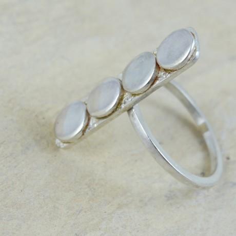 Sterling silver ring Fouth, Bijuterii de argint lucrate manual, handmade