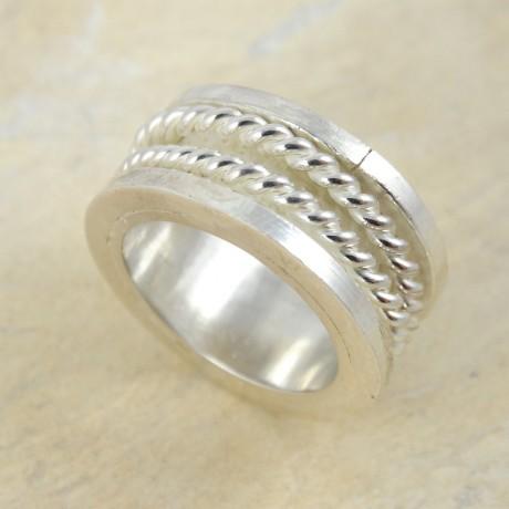 Sterling silver ring Wild Spirit, Bijuterii de argint lucrate manual, handmade