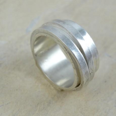 Sterling silver ring Drive, Bijuterii de argint lucrate manual, handmade