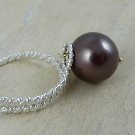 Sterling silver ring Hazel Bias, Bijuterii de argint lucrate manual, handmade
