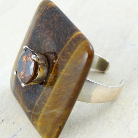 Sterling silver ring Eye of the Beholder, Bijuterii de argint lucrate manual, handmade
