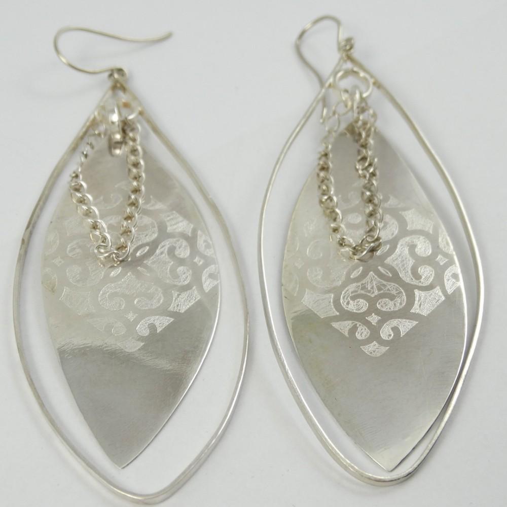 Sterling silver earrings MISTRESS